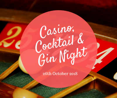 Casino, Cocktail & Gin Night