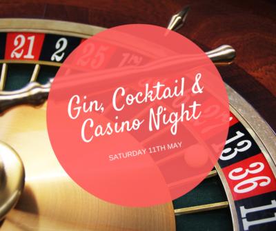 Casino, Cocktail & Gin Night